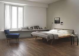 view in gallery wood effect tile in a modern bedroom