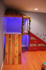 My husband built this for our boys. We call it an indoor tree house. Indoor PlayroomPlayroom  SlideSon ...