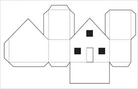Printable House Templates Under Fontanacountryinn Com