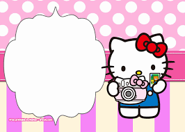 Printable Hello Kitty Invitations Personalized Hello Kitty Invitations Printable Free Bkperennials