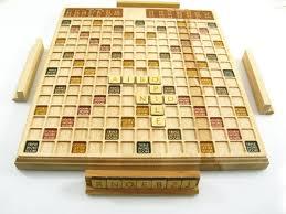 Handmade Wooden Board Games Unique Scrabble Wood Scrabble Board Handmade Scrabble Game Art Etsy