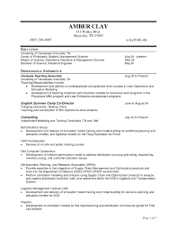 Resume For Construction Project Manager Beautiful Engineering