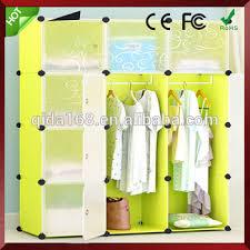 kids toy closet organizer. Toy Plastic Storage Wardrobe Print Lovely Animals Design,3 Door Kids Closet Organizer N