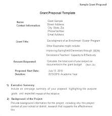 Project Proposal Cover Letters Free Grant Proposal Cover Letter Template For On Sample Templates