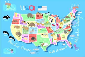 usa map rug map rug map rug for kids major tourist attractions maps map area