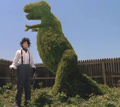 Image result for edward scissorhands lawnart