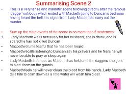 Famous Macbeth Quotes Enchanting Act 48 Scene 48 Macbeth Lesson Aims To Summarise The Key Events In