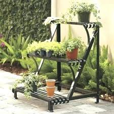 hanging plant stands outdoor garden pot rack best outdoor plant stands ideas on yard decor throughout hanging plant stands outdoor