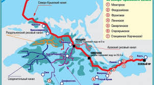 курсовая работа материалы и источники Зеленый Путь Северо крымский канал дороги и лесополосы вместо орошения 20 века