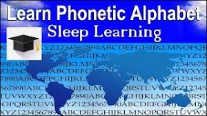 Memorize them, concentrating particularly on the sounds that are look them up in the dictionary and check where the stress falls in the phonetic transcription. Learn And Remember The Phonetic Alphabet Youtube