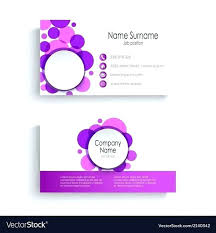 Circle Business Card Template Unique Braided Shaped Cards