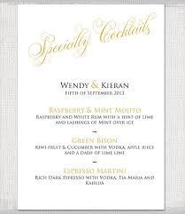 9 Wedding Party Menu Designs Templates Free Premium Templates