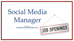 Social Media Manager Job Description - Youtube