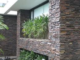 mudra red waterfall stone wall