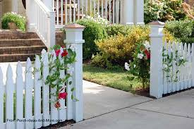 white fence ideas. Picket Fence With Flowers As Entrance To Home White Ideas