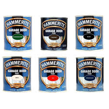 hammerite garage door paint variouse colours 750ml straight to metal 1 of 1free