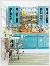 (Interior Decor Inspiration: Colour it Bright Kitchens)