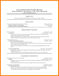 Resume Objective Examples Accounting Internship Fresh 12 Accounting