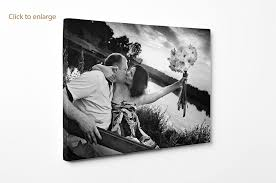 personalised photo canvas print your picture on 75x25cm 30 x10 panoramic