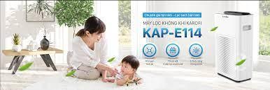 Máy lọc không khí Karofi KAP-E114 - Hàng chính hãng bảo hành 24 tháng