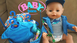 BABY BORN Ben\u0027s Easter Basket New Clothes - YouTube