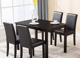 kitchen dining tables. 5 Piece Dining Table Set 4 Chairs Wood Kitchen Dinette Tables S