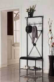 Mini Coat Rack Amazing Black Entryway Mini Hall Tree Coat Rack Stand Home Living Furniture