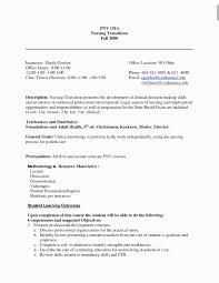 Lpn Resume Sample New Graduate 240643 12 New Lvn Resume