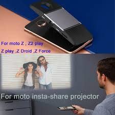moto insta share projector. for motorola moto z2 play z droid force phone dngn original insta share projector t