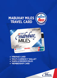 Mabuhay Miles Redemption Chart Domestic Mabuhay Miles Travel Card