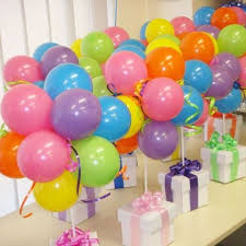 balloon gift box centerpiece balloon centerpiece for table dubai