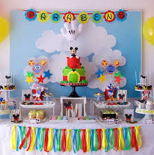 Mickey Mouse Clubhouse 2nd Birthday Invitations Mickey Mouse Clubhouse 2nd Birthday Dessert Table In 2019