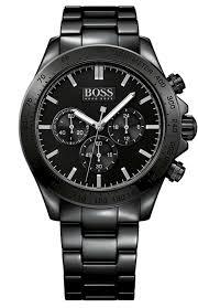 hugo boss ikon ceramic men s 44mm black chronograph watch hugo boss ikon ceramic men s 44mm black chronograph watch 1513197