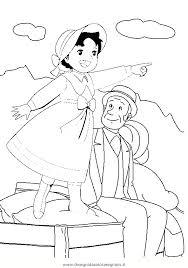 Disegno Heidi09 Personaggio Cartone Animato Da Colorare