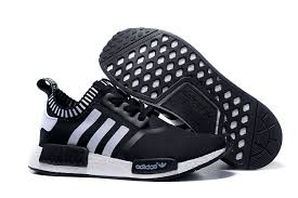 adidas shoes black and white. adidas nmd runner black white men women shoes and