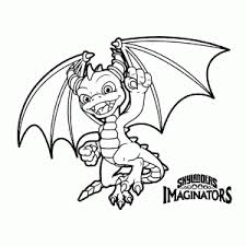 Skylanders Coloring Pages Spyro Color Bros