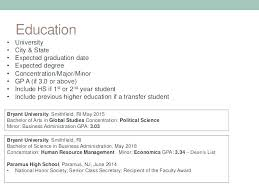 Incomplete Education On Resume Professional Resume Recent Education Fascinating How To List Degree On Resume