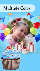 Happy Birthday Cake Photo Frame Editor Oceanfur23com