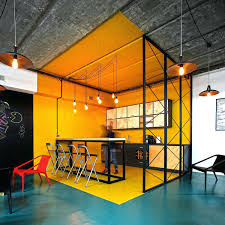 office kitchen ideas. View In Gallery Office Kitchen Bright Yellow With Industrial Style Small Design Ideas Ltd
