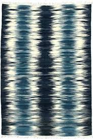 blue ikat area rug blue rug hand made blue ivory wool modern rug ft area rug blue ikat area rug