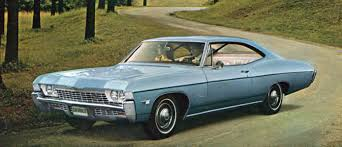 Photo Collection Blue 1968 Chevy Impala