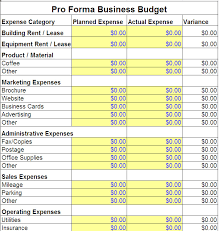 sample business budgets business budgets oyle kalakaari co