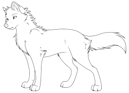 Wolf Girl Coloring Pages At Getdrawingscom Free For Personal Use