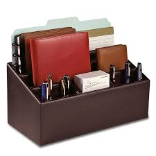 attractive desk organizer leather er jacket unifier leather desk organizer levenger