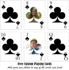 Custom Design Playing Cards 28 Custom Playing Cards Template Design Your Own
