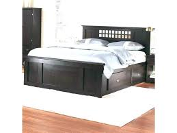 High Platform Bed With Storage Cheap Drawers Captains Queen Frame ...