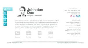 simple resume website personal website template free for resume websites html templates