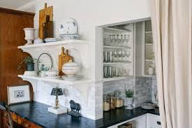 Kitchen cabinet curtain ideas that will instantly beautify your interior. Kitchen Pantry Curtains Cottage Kitchen Sandy Muraca Design