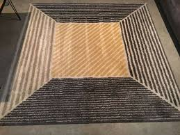 great condition ikea rug yellow grey used but in great condition east london