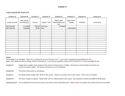 Check Register In Pdf Simple 48 Checkbook Register Templates [48% Free Printable] Template Lab